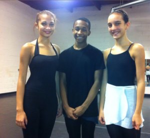 Wacheva dancers Deanna, Tevin and Ana.