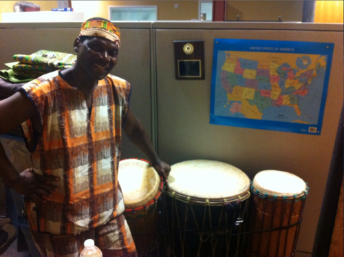 Biboti Ouikahilo, founder of Wacheva Cultural Arts Center of Syracuse, NY.