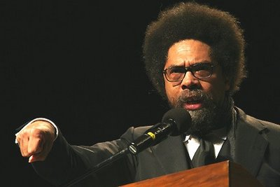 Thee Cornel West graced the stage in Syracuse University's Goldstein Auditorium and would deliver an unforgettable speech.